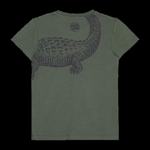 T-shirt Taco groen achterkant