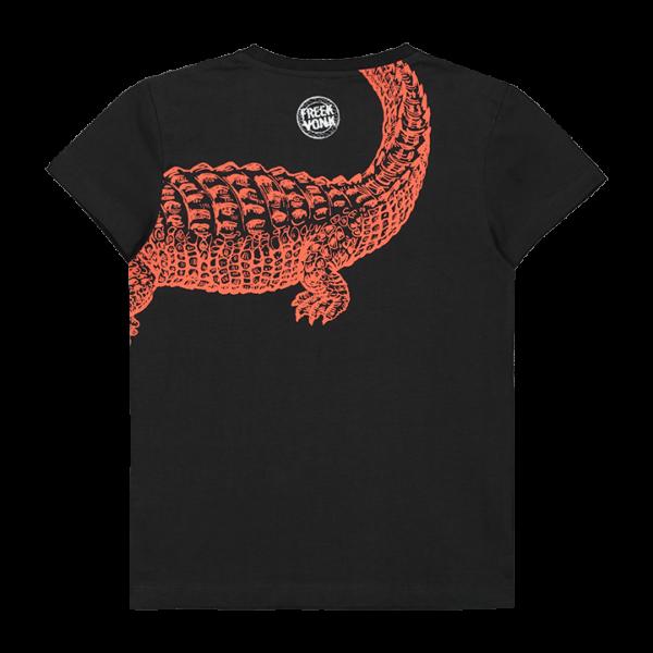 T-shirt Taco zwart achterkant