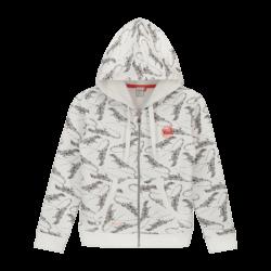 Vest Sab wit voorkant